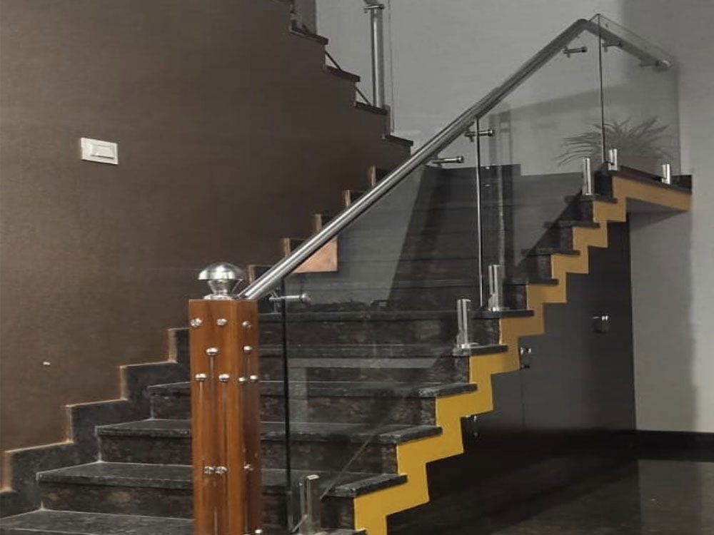 SS Railing with Glass in Chennai