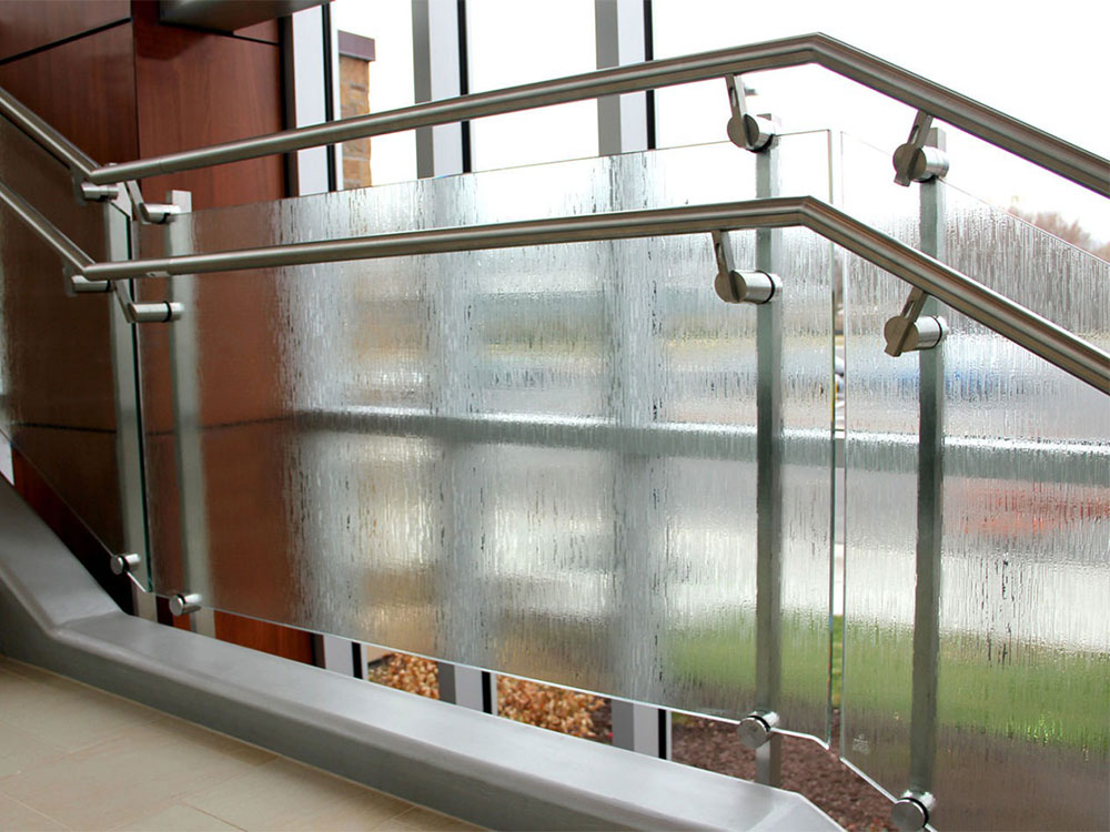 SS Railings with Glass in Pondicherry