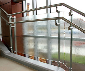 SS Hand Railings with Glass in Tada Sricity