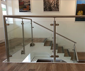 SS Hand Railings with Glass in Vellore