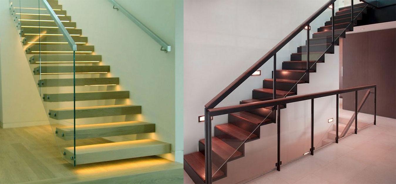 SS Staircase Glass Balcony Railing SS Hand Railings Glass ...